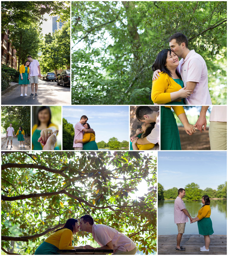 Jina Lee Photography | Atlanta Engagement Photographer